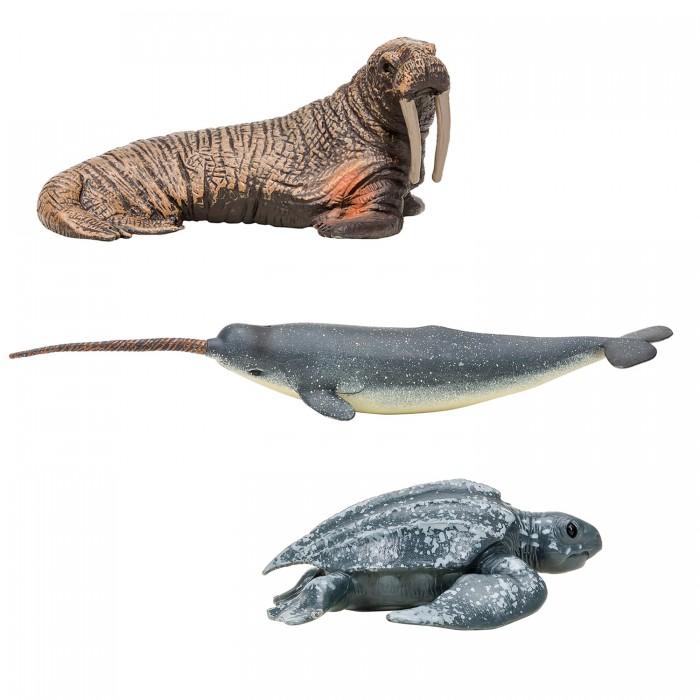 Купить Игровые фигурки, Masai Mara Фигурки игрушки Мир морских животных (3 предмета) ММ203-004