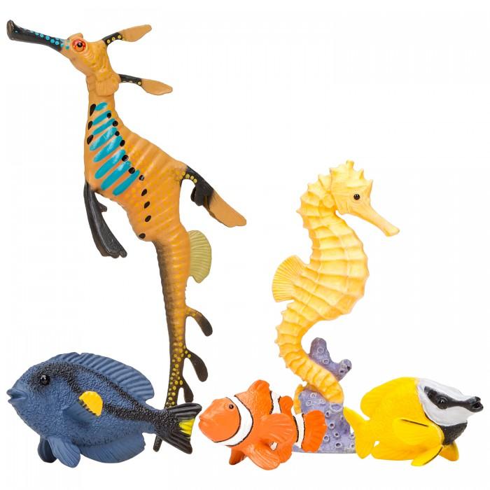 Купить Игровые фигурки, Masai Mara Фигурки игрушки Мир морских животных (5 предметов) ММ203-011