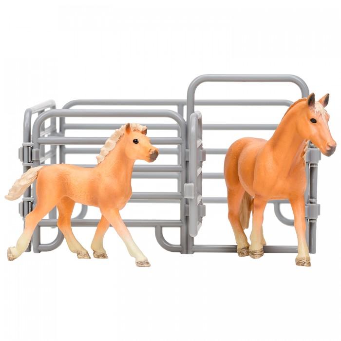 Купить Игровые фигурки, Masai Mara Фигурки животных Мир лошадей Авелинская лошадь и жеребенок (3 предмета)