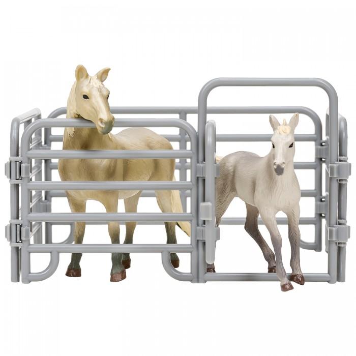 Купить Игровые фигурки, Masai Mara Фигурки животных Мир лошадей Арабская лошадь и жеребенок (3 предмета)
