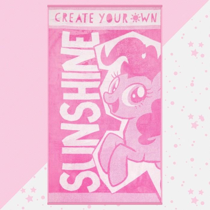 Полотенца Май Литл Пони (My Little Pony) Полотенце махровое Sunshine 130х70