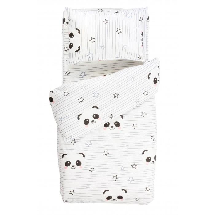 Купить Постельное белье 1.5-спальное, Постельное белье Forest kids 1.5 спальное Panda (3 предмета)