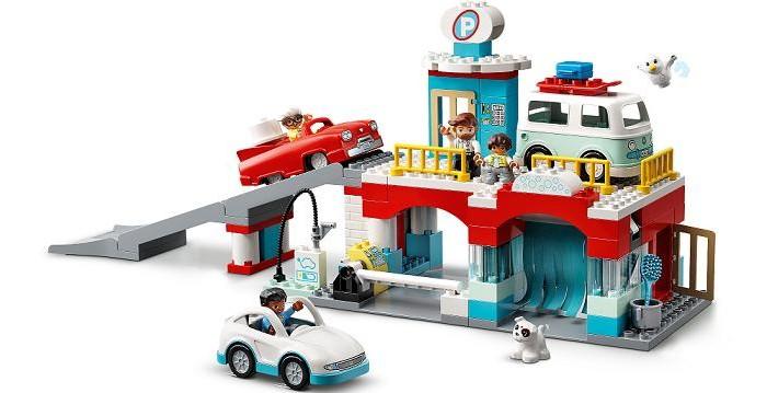 Lego Lego Duplo Гараж и автомойка