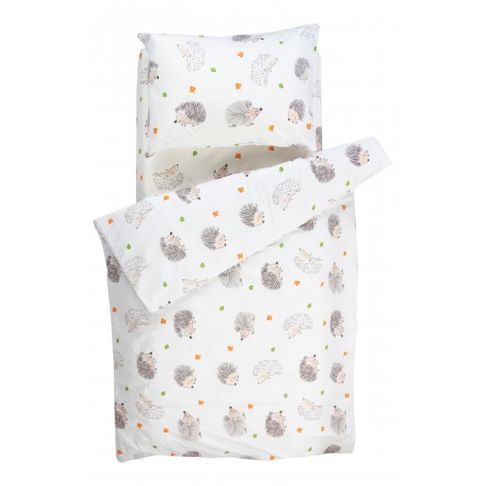 Купить Постельное белье 1.5-спальное, Постельное белье Forest kids 1.5 спальное Ежики (3 предмета)