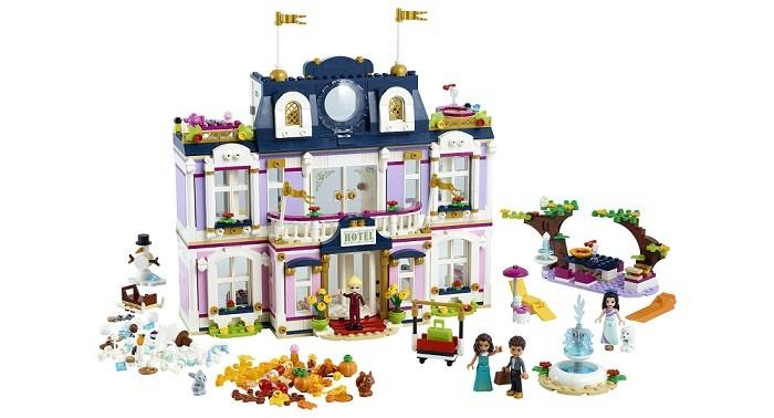 Lego Lego Friends Гранд-отель Хартлейк Сити