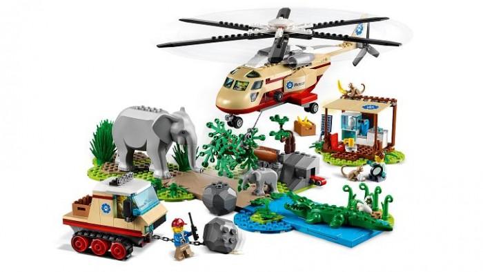 Lego Lego City Операция по спасению зверей