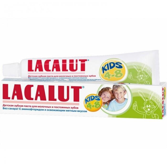 Гигиена полости рта Lacalut Зубная паста Kids 4-8 лет 50 мл гигиена полости рта lacalut зубная паста kids 4 8 лет 50 мл