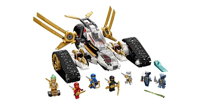 Фото - Lego Lego Ninjago Сверхзвуковой самолёт конструктор lego ninjago бронированный носорог зейна