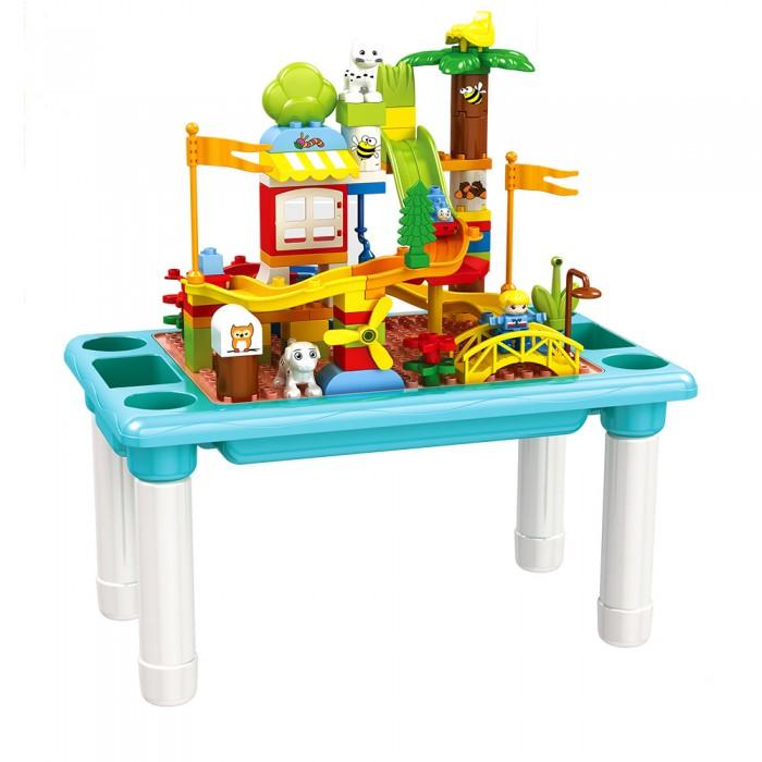 Купить Игровые центры, Игровой центр Pituso Стол для игры с конструктором (78 элементов)