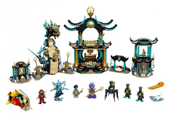 Lego Lego Ninjago Храм Бескрайнего моря lego lego ninjago императорский храм безумия