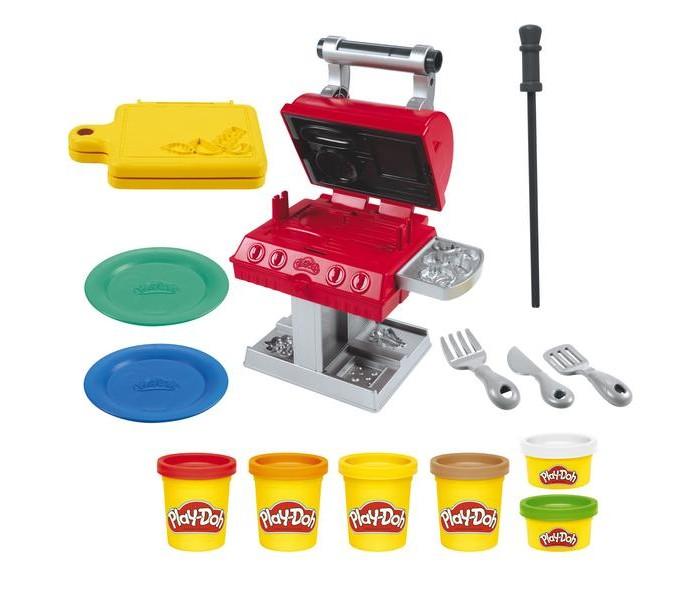 Принадлежности для лепки Play-Doh Набор для лепки Гриль барбекю