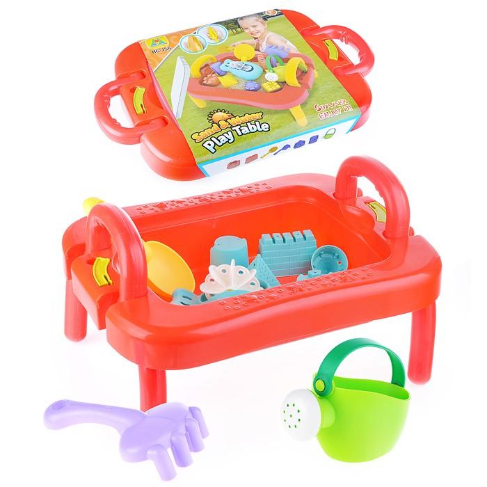 Купить Игрушки в песочницу, Ural Toys Набор для воды и песка (12 предметов)