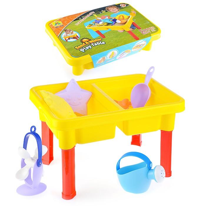 Купить Игрушки в песочницу, Ural Toys Набор для воды и песка (15 предметов)