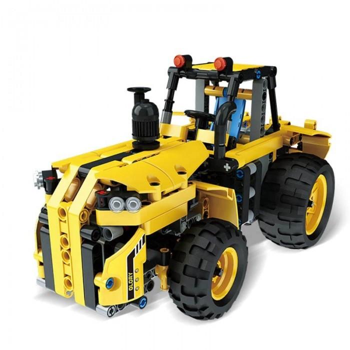 Конструкторы Mould King электромеханический Трактор-тягач (386 деталей)