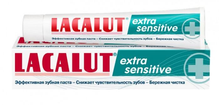 Гигиена полости рта Lacalut Зубная паста Extra Sensitive 50 мл гигиена полости рта lacalut зубная паста sensitive 75 мл