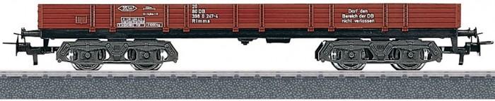 Купить Железные дороги, Marklin Низкий грузовой вагон-платформа с бортами