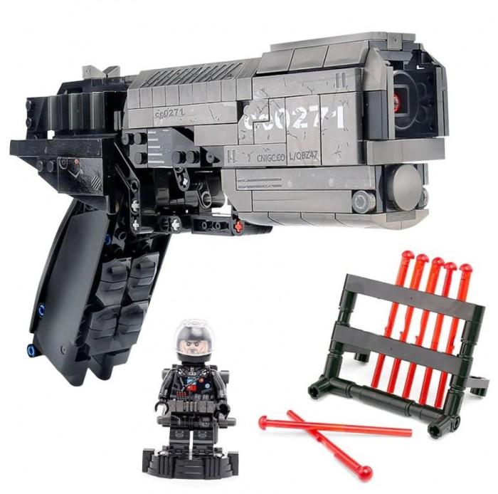 Купить Конструкторы, Конструктор Sembo Оружие Пистолет L/QBZ47 (431 деталей)