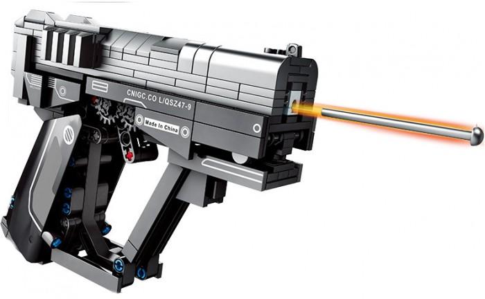 Купить Конструкторы, Конструктор Sembo Оружие Пистолет L/QSZ47-9 (364 детали)
