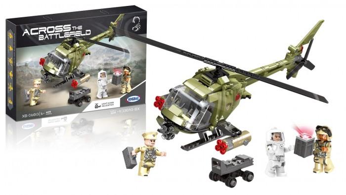 Купить Конструкторы, Конструктор XingBao Военный вертолет (425 деталей)