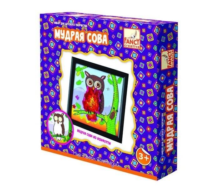Аппликации для детей Fancy Creative Набор для творчества Мудрая сова creative creative набор для творчества салон красоты