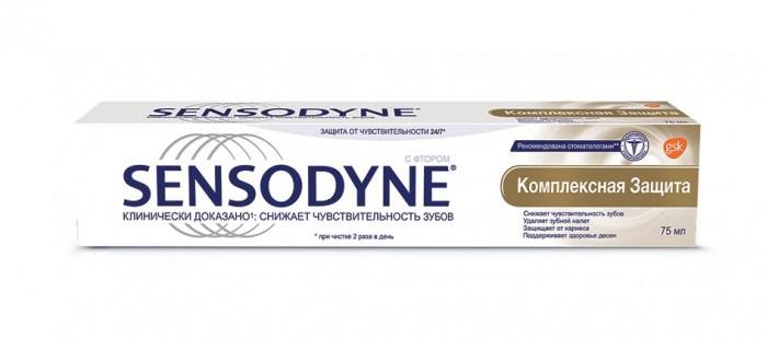 Гигиена полости рта Sensodyne Зубная паста Комплексная защита 75 мл sensodyne зубная паста тотал кэа 50 мл