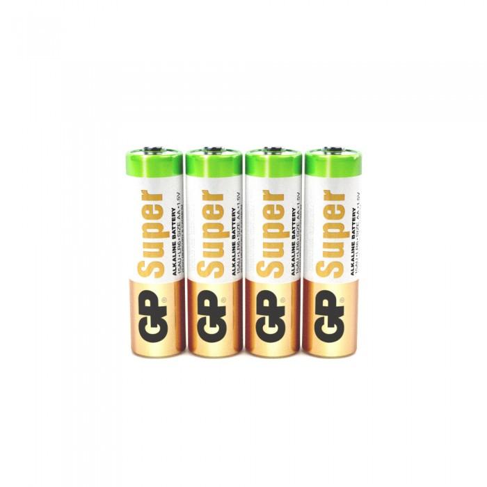Батарейки, удлинители и переходники GP Батарейка Super Alkaline АА (LR6) 15А-2SB4 алкалиновая 4 шт. батарейка gp алкалиновые типоразмера аа 4 шт