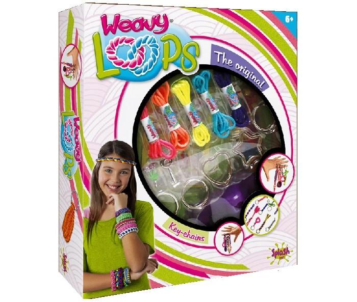 Наборы для творчества Splash Toys Набор для плетения брелочков набор для творчества каррас набор для плетения из лозы к004