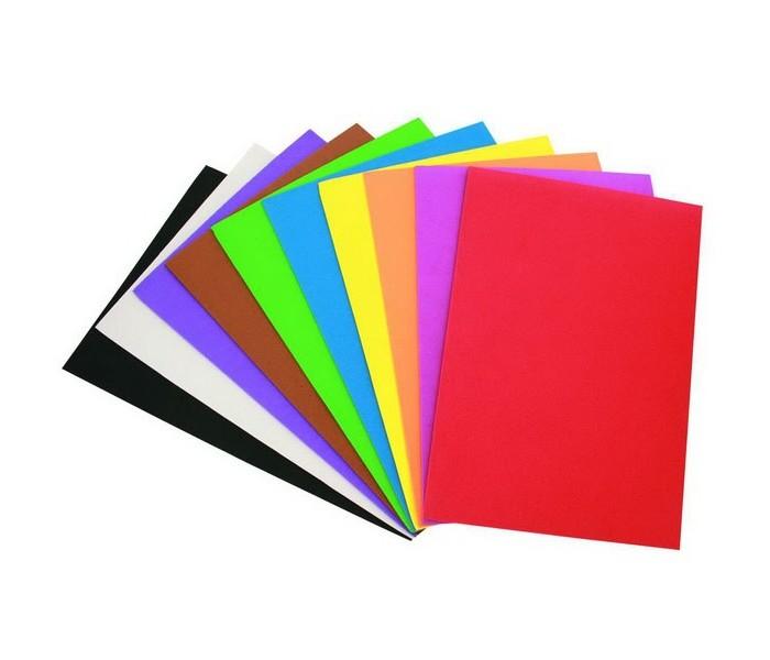 Канцелярия Fancy Creative Набор самоклеющихся листов пористой резины А4 10 л наборы для поделок fancy creative набор квиллинг чучело