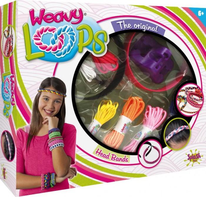 Наборы для творчества Splash Toys Набор для плетения ободков и браслетов гардина wisan 9552