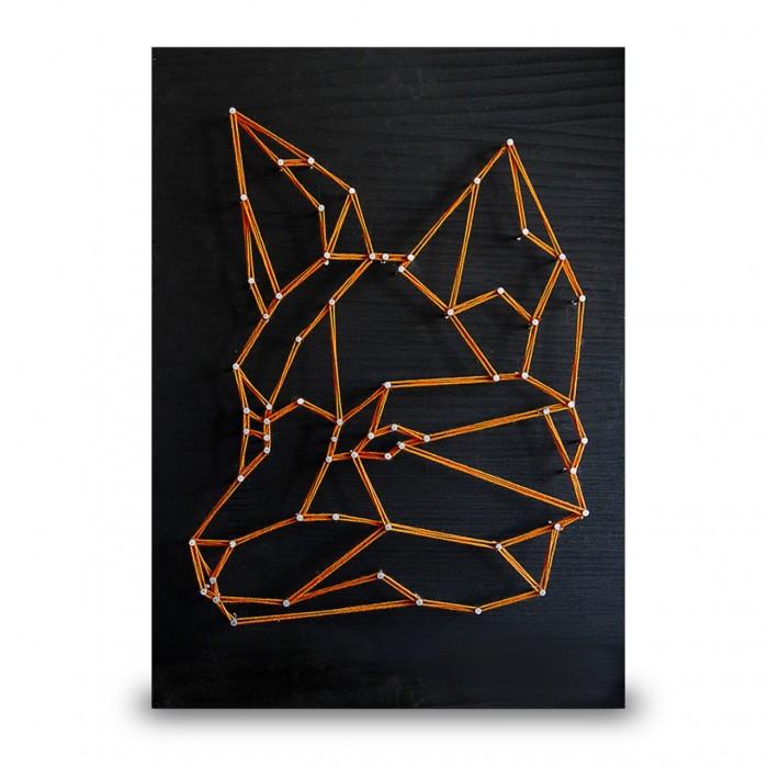 Купить Наборы для творчества, String Art Lab Набор для творчества Стринг арт Лиса минимализм