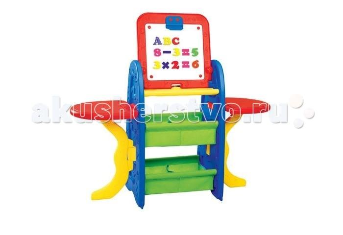 Развитие и школа , Доски и мольберты S+S Toys Детская парта-мольберт Арт-студия 100472863 арт: 116811 -  Доски и мольберты