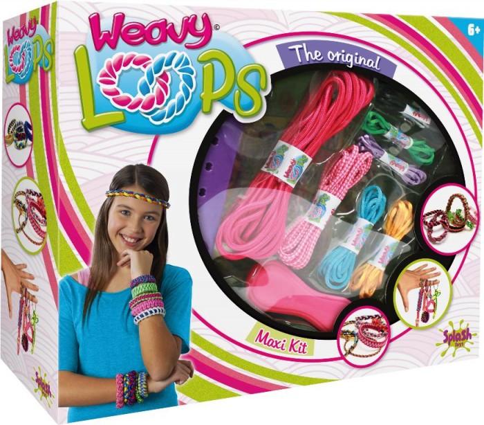 Splash Toys Набор для плетения 4 в 1Набор для плетения 4 в 1Набор 4 в 1.  С таким набором есть возможность создавать украшения и аксессуары на свой вкус и по собственному уникальному дизайну.   В комплекте есть все необходимое, чтобы сплести браслет, ободок, декоративные шнурки и многое другое.   Необязательно создавать украшения - с помощью сплетенных шнурков можно придать новый вид привычным вещам, обновив их образ.   Творческие возможности не ограничены, с набором для плетения легко и удобно развивать дизайнерские способности, совершенствовать чувство вкуса и стиля.  Картонная коробка с окошком из прозрачного пластика.  Содержит несколько моточков шнурков, приспособление для плетения и различные пластиковые и металлические аксессуары.<br>