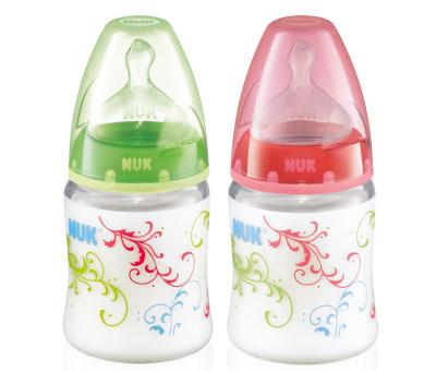 Бутылочки Nuk First Choice пластик с антиколиковой соской из силикона 150 мл