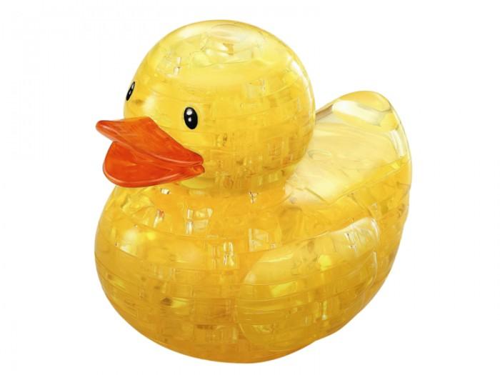 Пазлы Crystal Puzzle Головоломка Уточка золотая 3d головоломка лебедь черный
