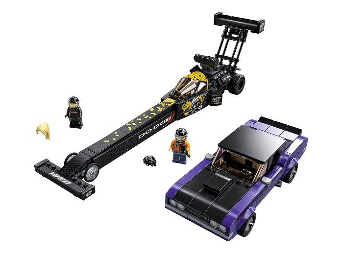 Фото - Lego Lego Speed Champions Mopar Dodge SRT Dragster and 1970 Dodge Challenger T/A lego lego speed champions mopar dodge srt dragster and 1970 dodge challenger t a
