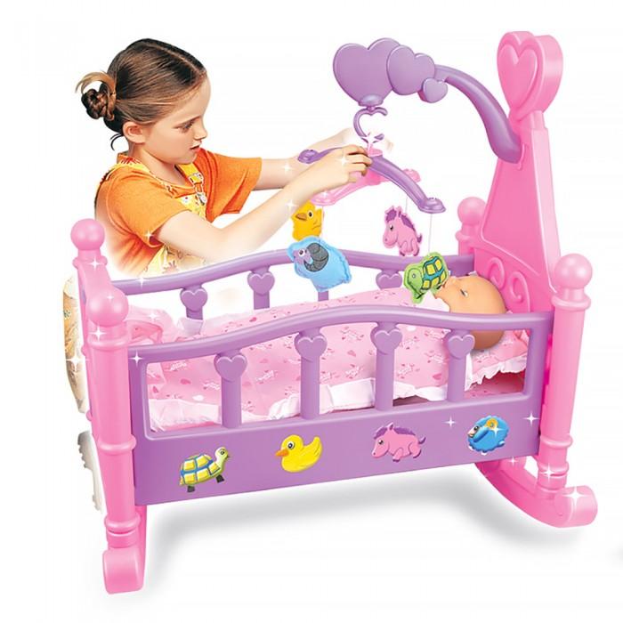 Pituso Набор Пупс 35 см + кроватка для кукол 53x50x31 см
