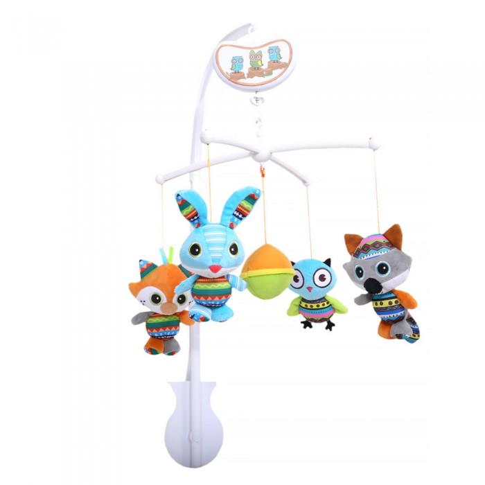Мобили Biba Toys музыкальный Друзья 65x33x33 см недорого