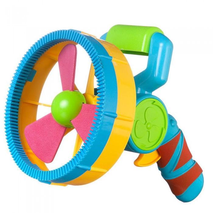 Мыльные пузыри Junfa Игрушка Машинка для запуска мыльных пузырей Бластер