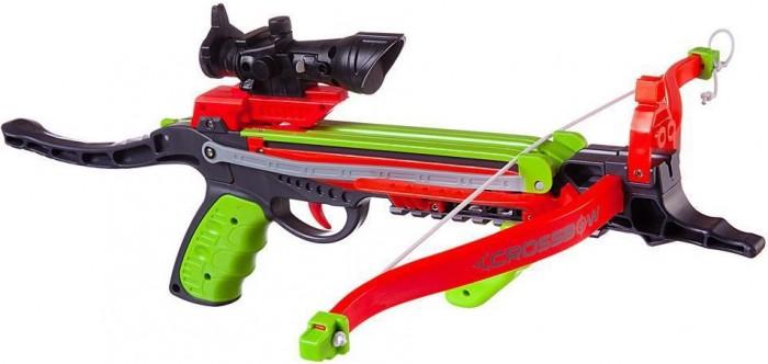 Купить Игрушечное оружие, Junfa Игровой набор Арбалет с прицелом, стрелами, колчаном и мишенью