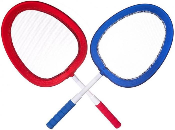 Спортивный инвентарь ABtoys Спортивная игра Бадминтон и теннис 2 в 1 (4 предмета)