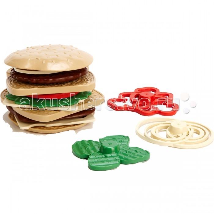 Green Toys Набор для сэндвичейНабор для сэндвичейGreen Toys Набор для сэндвичей обязательно понравится вашему малышу и займет его внимание надолго.  Особенности: Сложите и разделите на порции булочки для сэндвичей, чтобы сделать два сэндвича. Все игрушки Green Toys производятся только в США, в Калифорнии, на фабриках, принадлежащих компании.  Компания выпускает свои игрушки только из переработанных материалов.  Все игрушки сделаны из переработанного пластика, а упаковочные картонные коробки, сделаны из переработанной бумаги.  В комплекте 15 предметов: 2 кусочка хлеба,  2 половинки булочки,  котлета для бутерброда,  2 сыра,  помидор,  лист салата,  красный перец,  маринованный огурчик,  лук,  блак заказа<br>