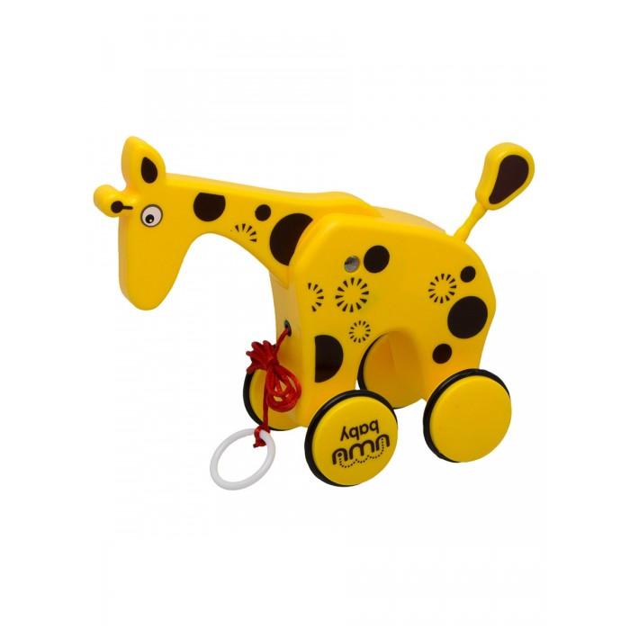 Каталки-игрушки Uwu Baby Качающийся жирафик
