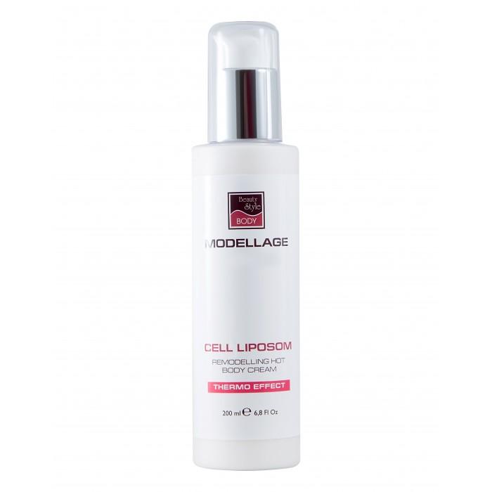 Купить Косметика для мамы, Beauty Style Крем для тела моделирующий с эффектом разогрева Cell Liposom Modellage 200 мл