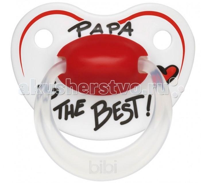 Пустышки Bibi Premium Dental силикон 0-6 мес. Happiness Papa