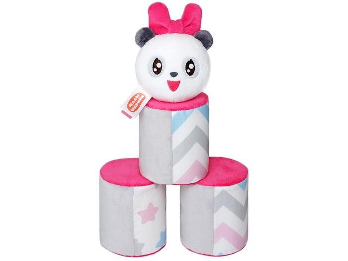 Мягкие игрушки Мякиши Малышарики Городки с Пандочкой