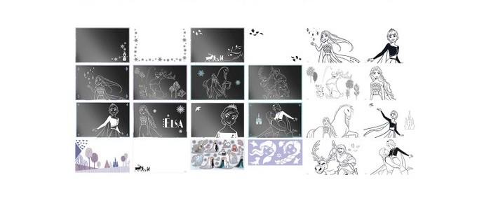 Фото - Наборы для творчества Totum Набор для творчества Альбом для граттажа Холодное сердце 2 totum коляска totum сити нео