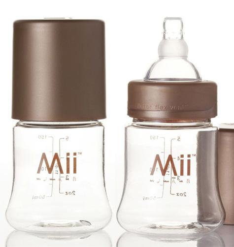 Аксессуары для кормления , Бутылочки Mii ForEver пластик 2 шт. 148 мл арт: 11733 -  Бутылочки
