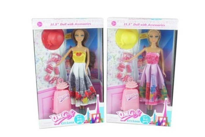 Junfa Кукла с аксессуарами Путешественница 11501