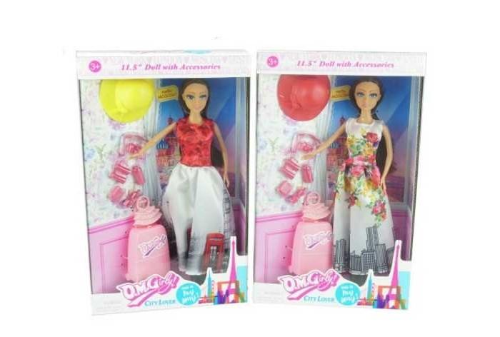 Junfa Кукла с аксессуарами Путешественница 11502