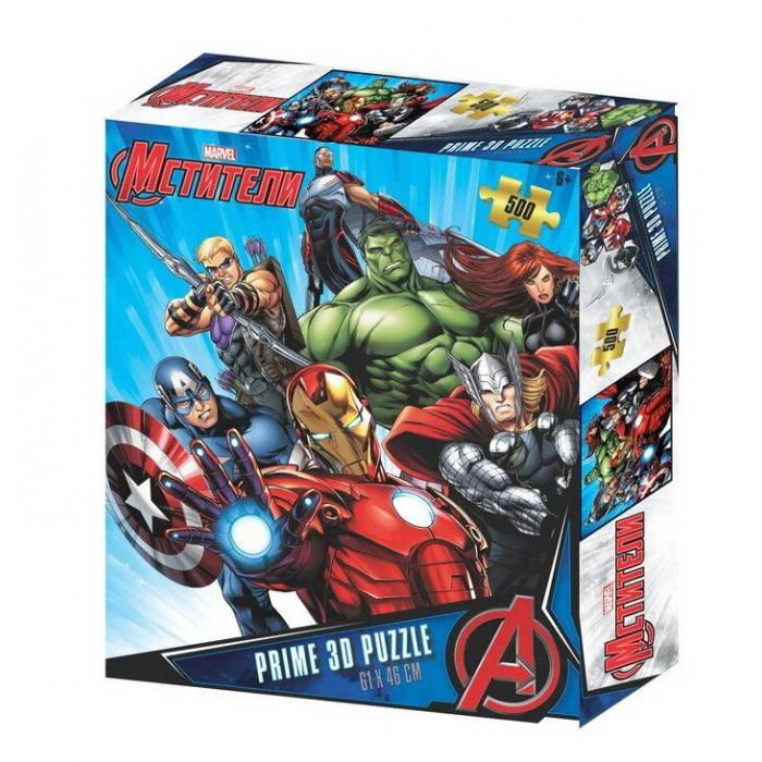 Купить Пазлы, Prime 3D Пазл Мстители (500 фрагментов)